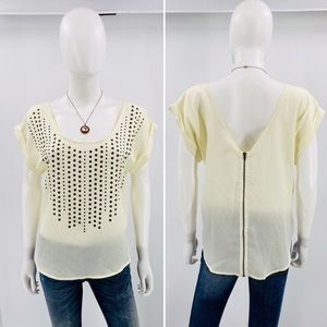 LSTER-Size L-Low Scoop Neck & V in Back, w/Bronze